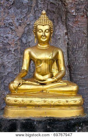 Buddhist Sculpture - Buddha Subduing Mara, Paang Marn Vichai
