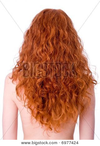 Gorgeous Curly Red Hair