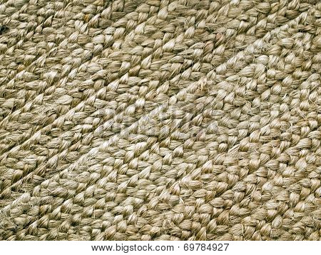 Brown Jute Background