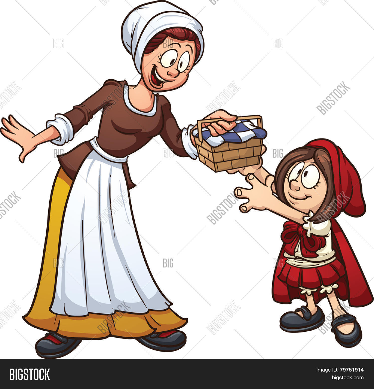Little Red Riding Vector Photo Free Trial Bigstock