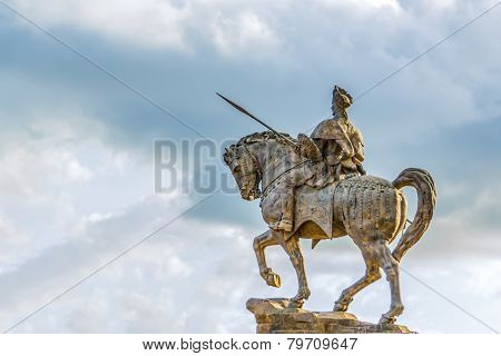 Statue Of Ras Makonnen On A Horse