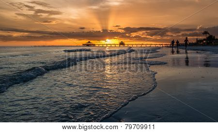 Sunset On Fort Myers Beach