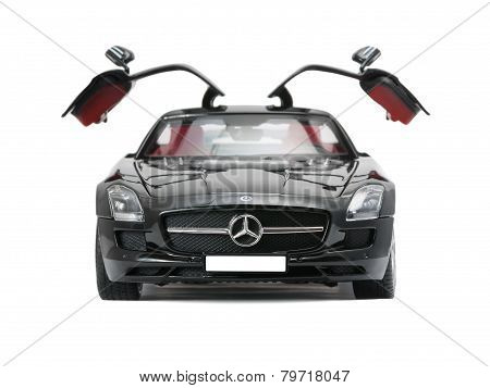 Collectible Sport Car Mercedes With Open Doors