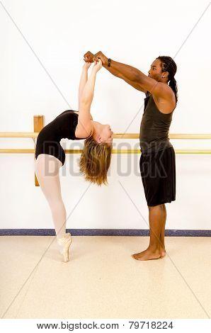 Ballet Dance Partners Pas De Deux
