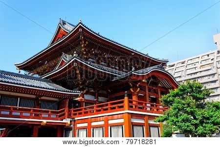 Osu Kannon temple in Nagoya , Japan