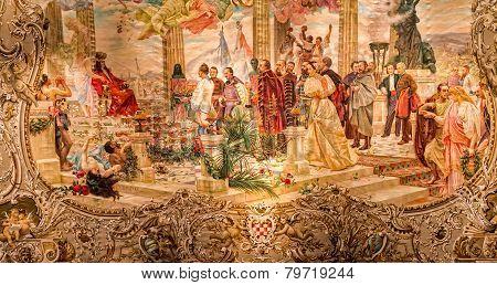 Croatian national revival painting