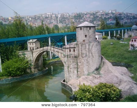 Mostar Bridge (Miniature)