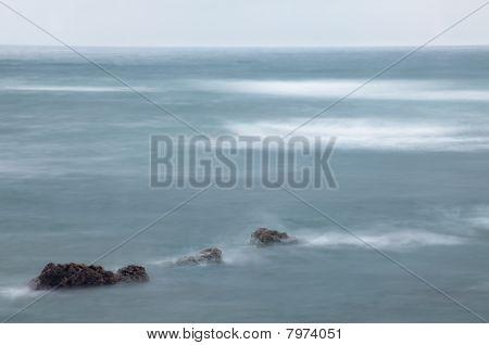 Foggy Foam Ocean
