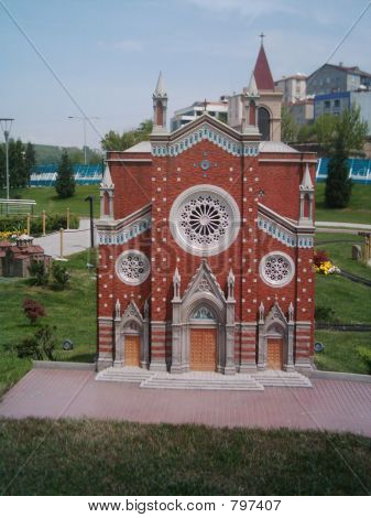The Church of Saint Antony (Miniature)