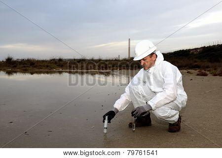 technical analyzes water.