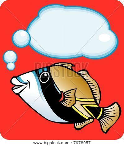 Reef Triggerfish (Hawaii State Fish)