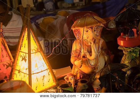 Miniature Of Lord Ganesha, Indian Handicrafts Fair