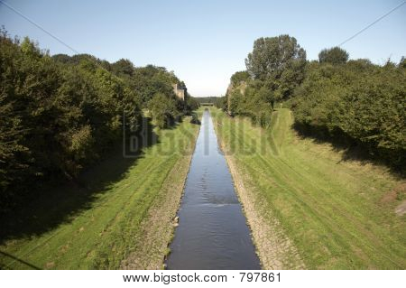 open waste water canal EMSCHER 02