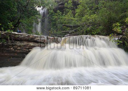 Splendour Of A Waterfall