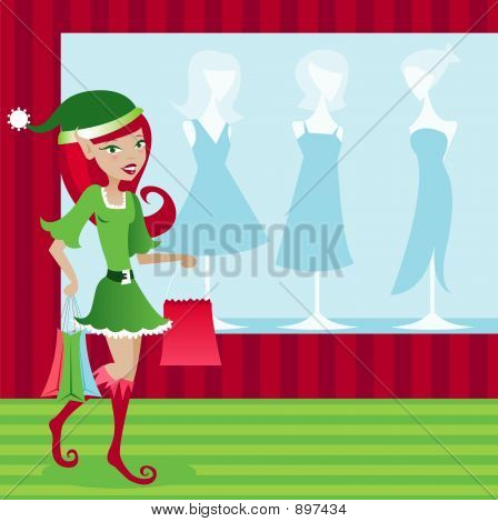 Holiday Elf Shopper