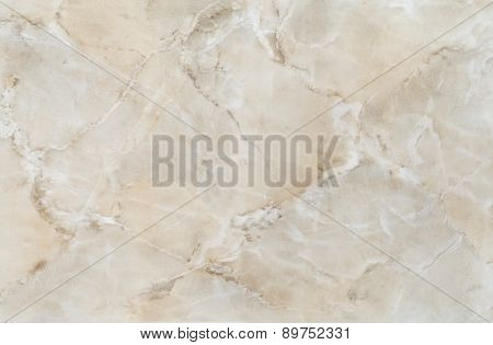 high quality beige colored marble tile , close up