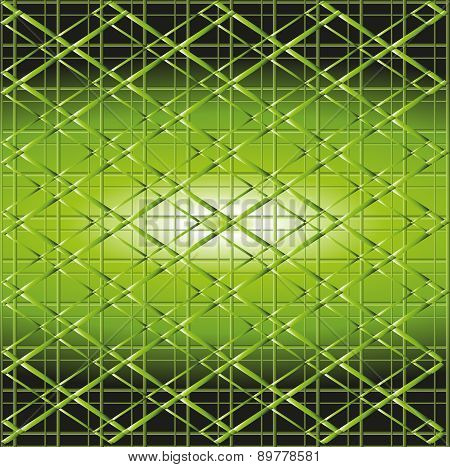 Illustrate vector of green grill texture background