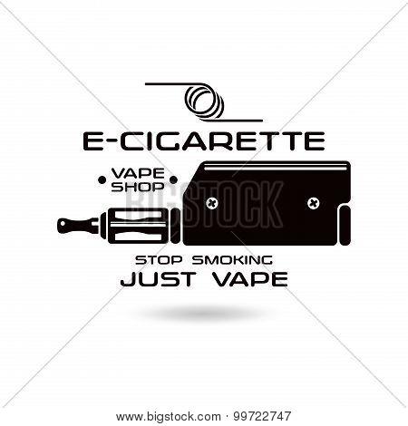 E-cigarette Emblem