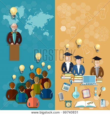 Education Technology Online Education Teacher Professor Lecture International Students Craduates
