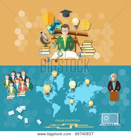 Science And Education Distance Learning Professor International Students Online Technology Study