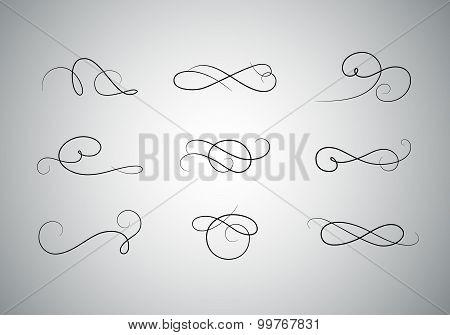 Premium Calligraphic Design Set