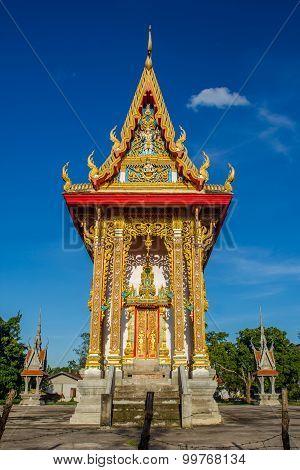 Temple In Sakon Nakhon Thailand.