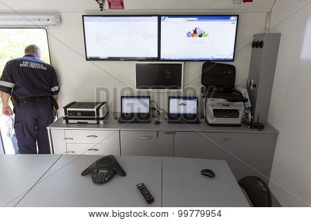 Fire Department Mobile Control Center
