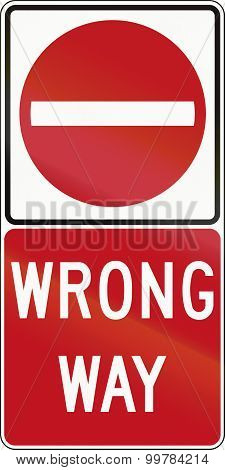 Wrong Way In Canada