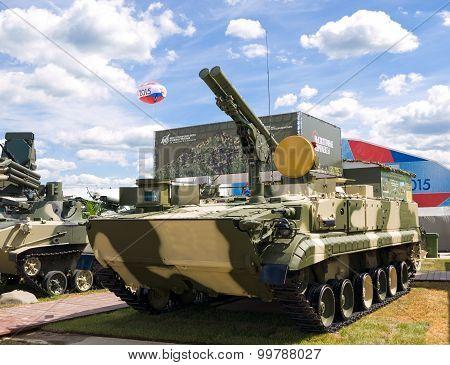 Self-propelled anti-tank missile system (ATGM)