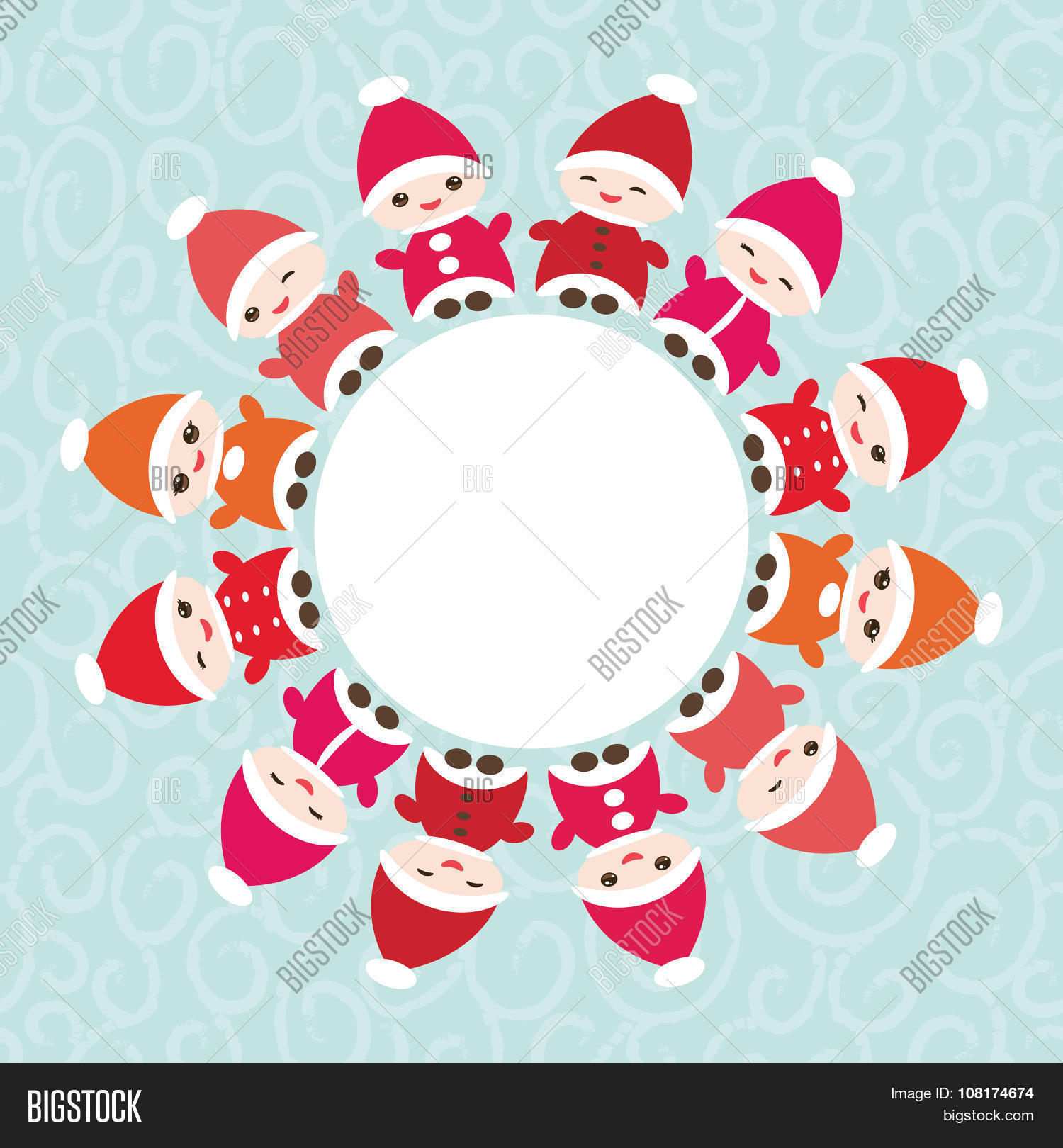 Happy New Year Card Vector & Photo (Free Trial) | Bigstock