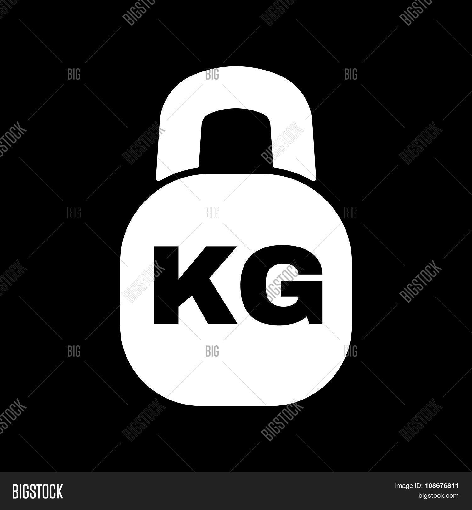 Kilogram Icon Kg Vector Photo Free Trial Bigstock