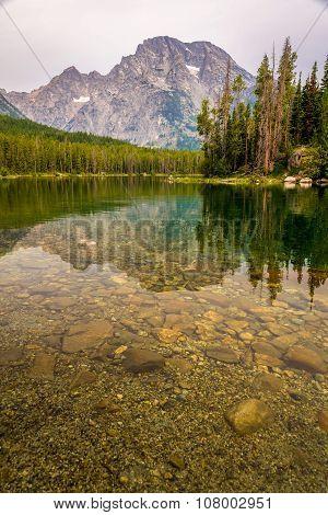 Canoe Camping In The Teton Range