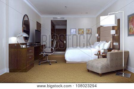 Hotel Room Modern Style