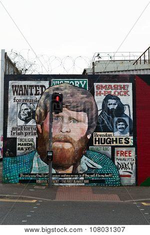 Belfast Republican Mural