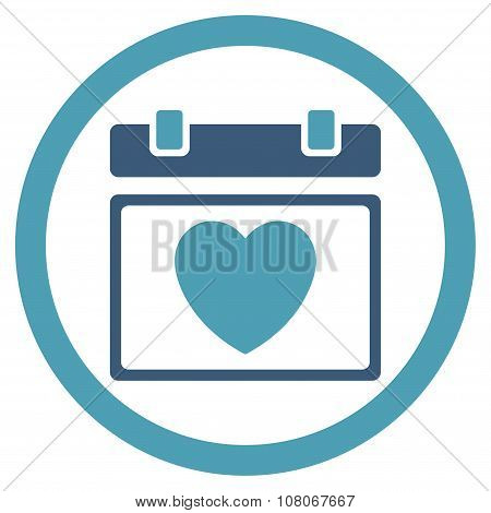 Lovely Binder Date Icon