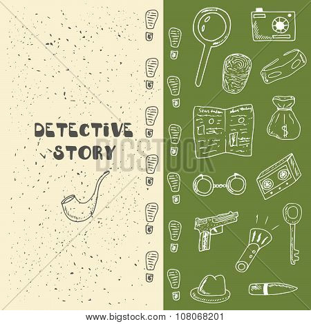 Detective story background