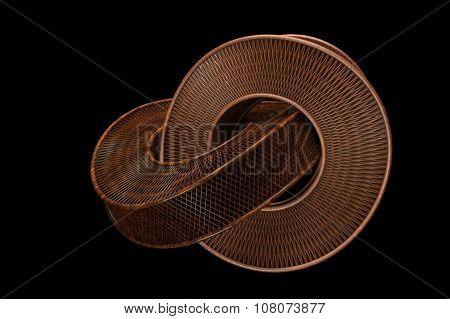 Two Wood Rings