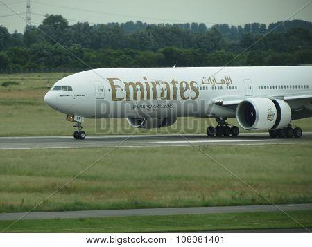 Emirates Airlines Boeing 777