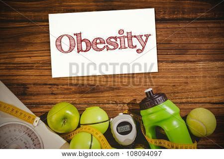Obesity against indicators of healthy lifestyle