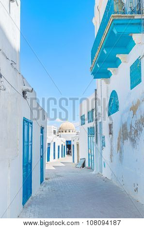 The Backstreets Of Kairouan