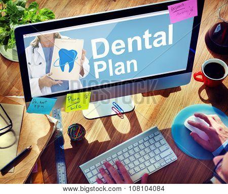 Dental Plan Benefits Dentist Medical Healthcare Hygiene Concept