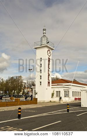 Lighthouse Of The Belem Ferry Terminal