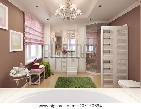 Children's Bathroom Girl