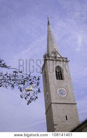 Church In Kaltern An Der Weinstrasse