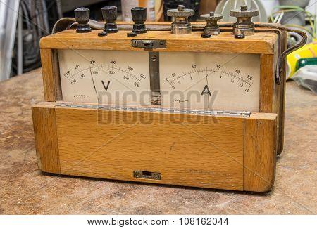Vintage Analog Electric Meter