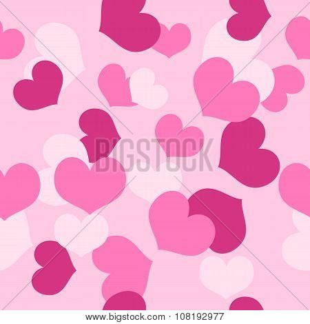 Seamless Pattern Valentines Day