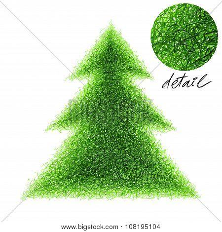 Fir-tree Illustration