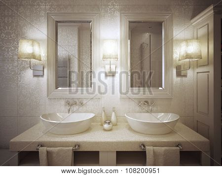 Bathroom Sink Consoles Modern Style