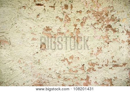 Vintage Or Grungy White Background Of Natural Cement Or Stone Old Texture As A Retro Pattern Wall. I