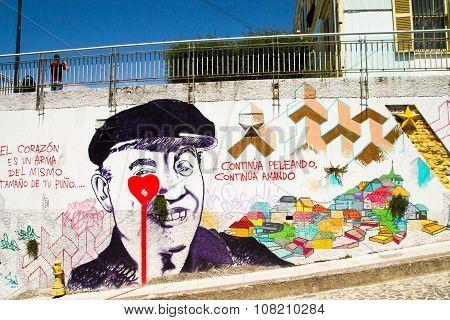 Street Art Valparaiso